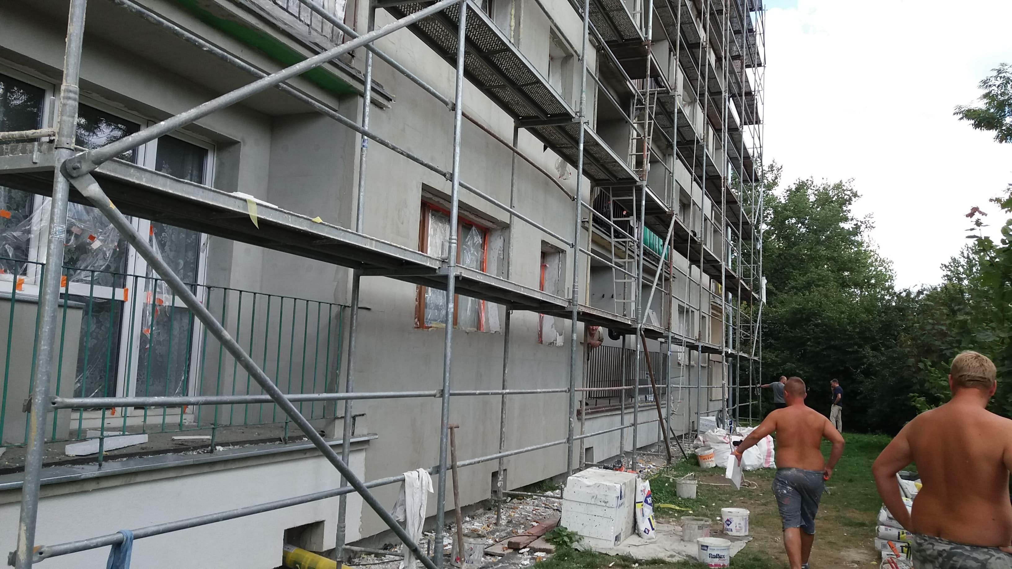 Photo of Zasłabł na rusztowaniu. Spadł z wysokości 2 piętra