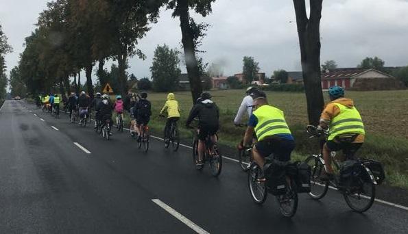 Photo of Pielgrzymi na rowerach wracają do Piotrkowa