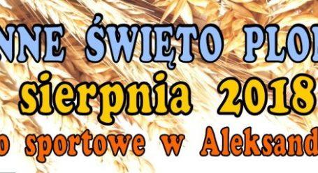 Dożynki w gminie Aleksandrów