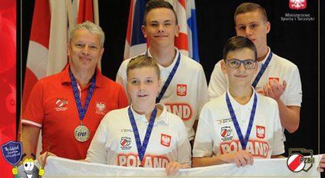 Oskar Jamorski z Rękoraja drużynowym wicemistrzem Europy