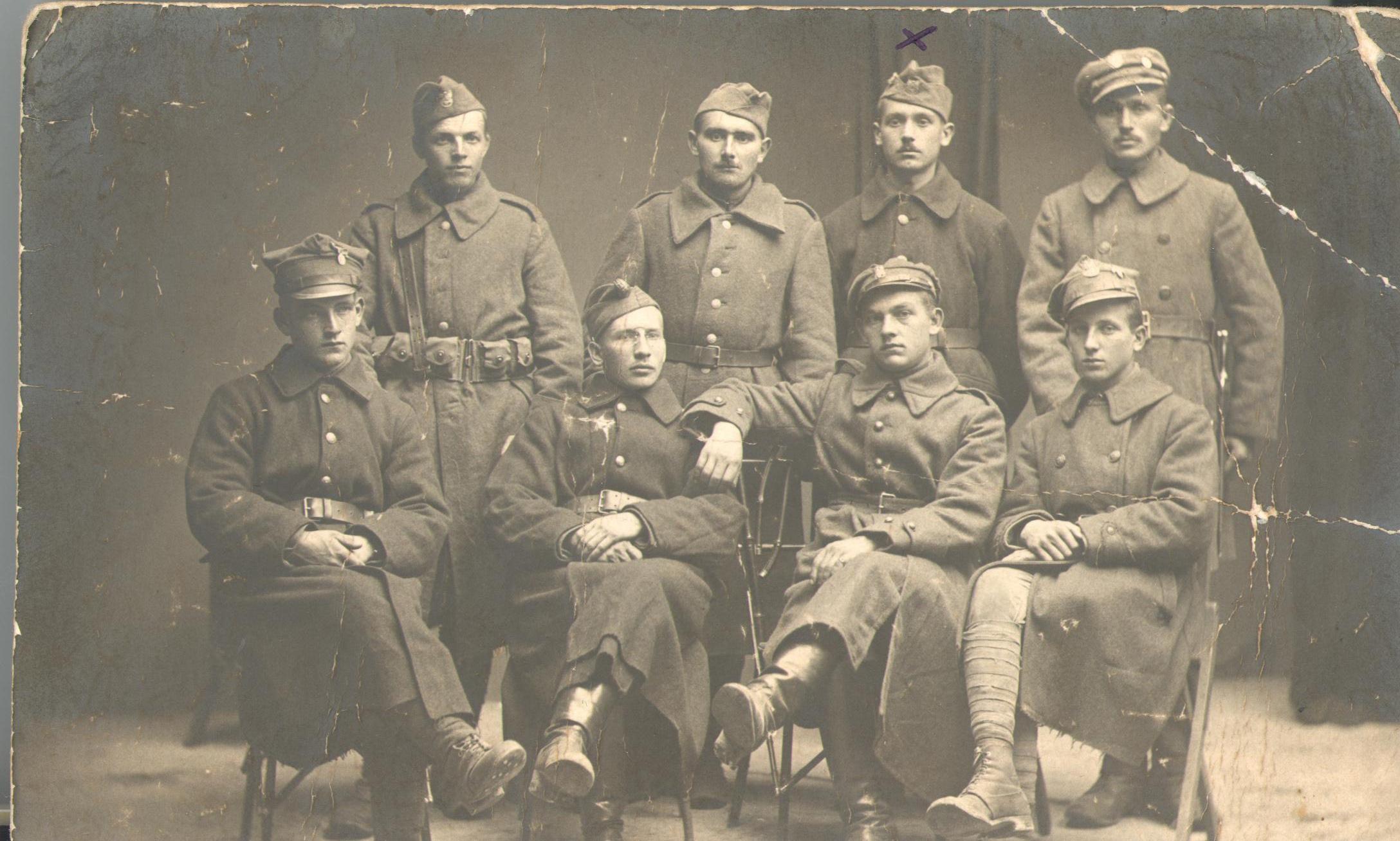 Photo of Wolborscy legioniści Piłsudskiego