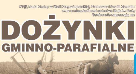Dożynki gminy Wola Krzysztoporska