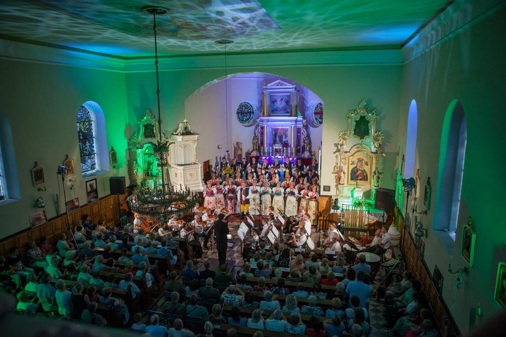 Photo of Zespół Śląsk koncertował w Czarnocinie