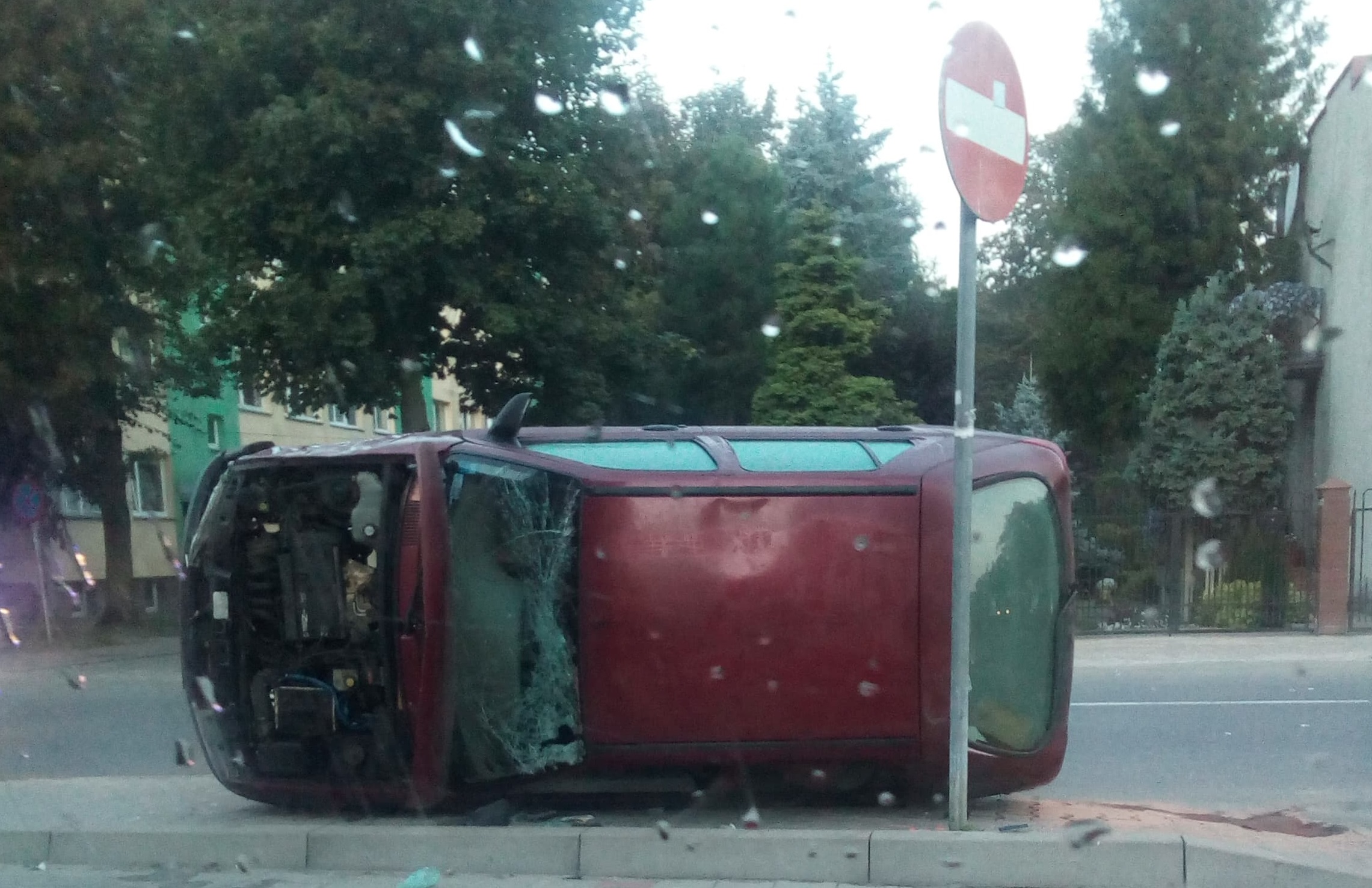 Photo of Ford i opel – kraksa na Wysokiej