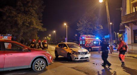 Nocne zderzenie w okolicy pl. Litewskiego