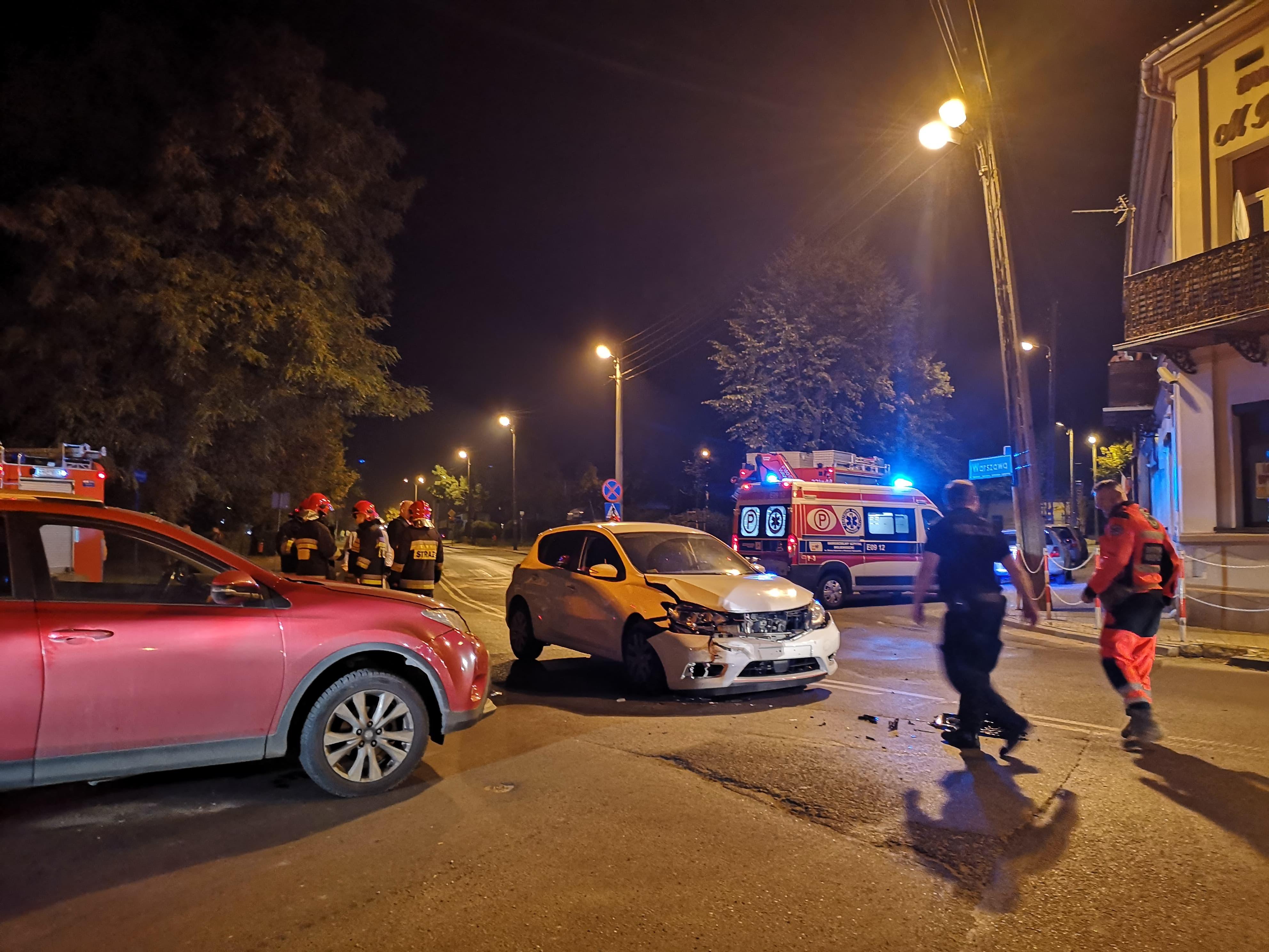 Photo of Nocne zderzenie w okolicy pl. Litewskiego