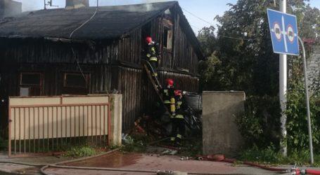 Pożar pustostanu przy ulicy Śląskiej
