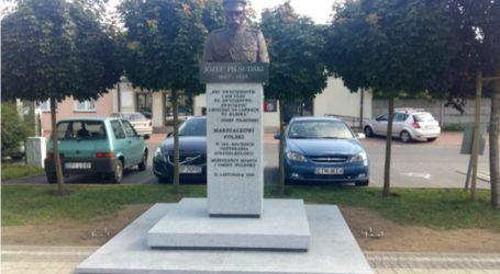 Pomnik Piłsudskiego w Wolborzu