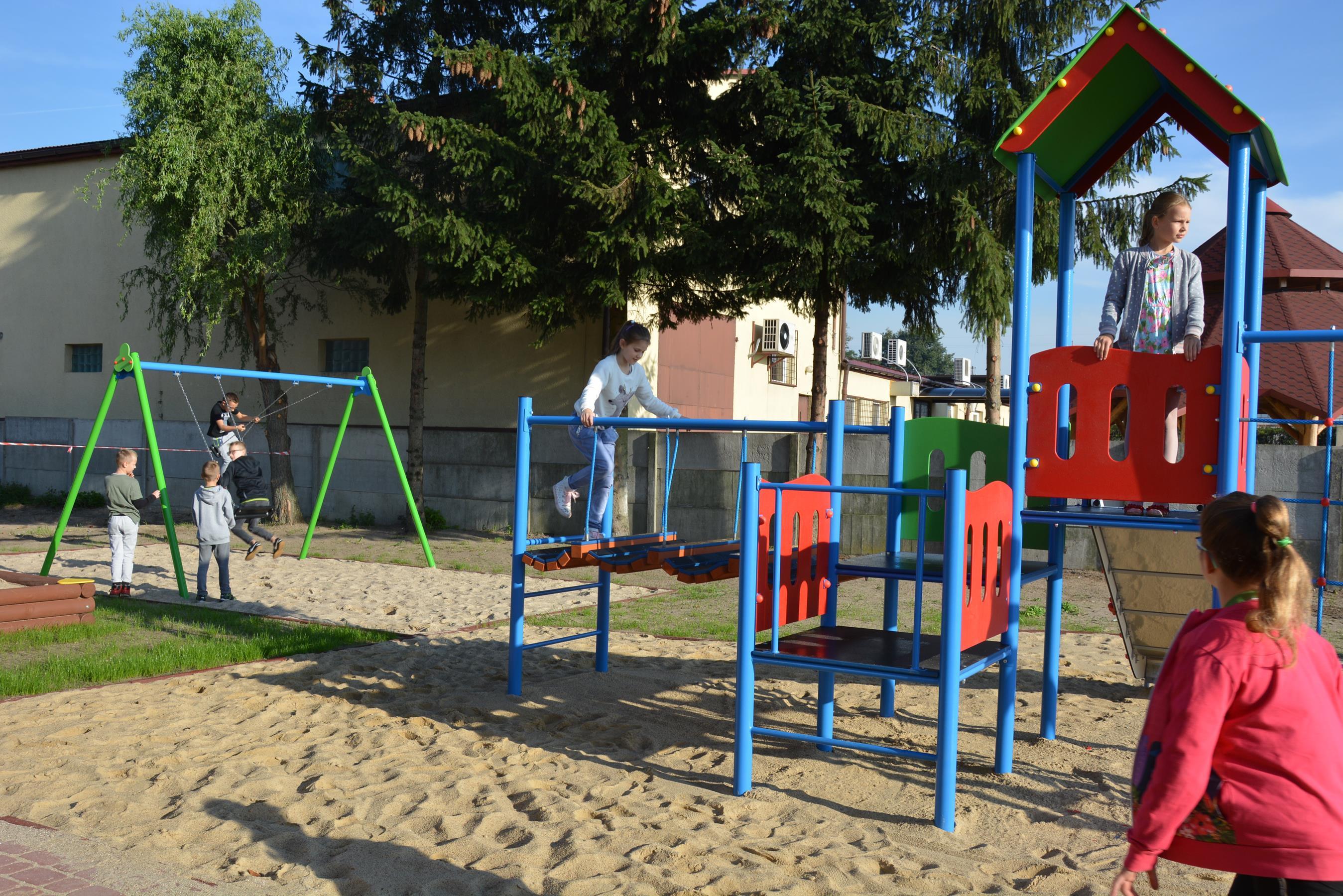 Photo of Nowy plac zabaw w Woli Kamockiej