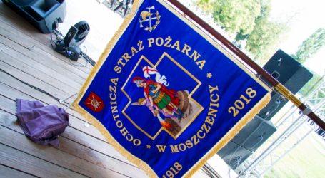 Sztandar dla OSP Moszczenica