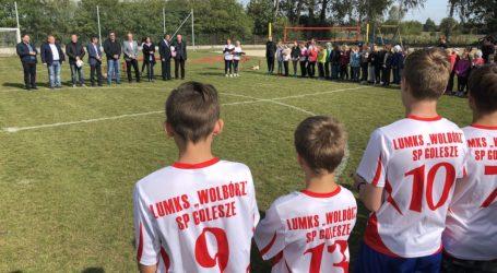 Nowe boiska w Goleszach otwarte