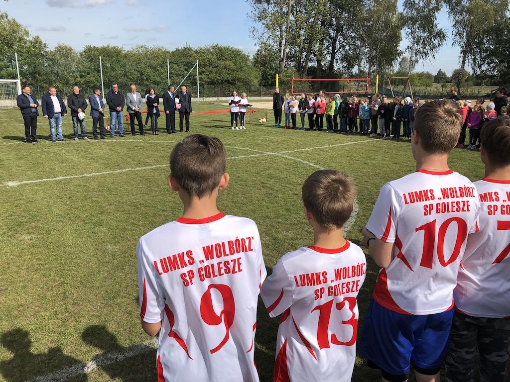 Photo of Nowe boiska w Goleszach otwarte