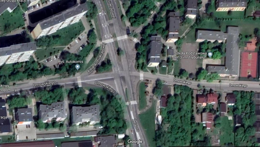Photo of Oddala się budowa ronda przy Dmowskiego