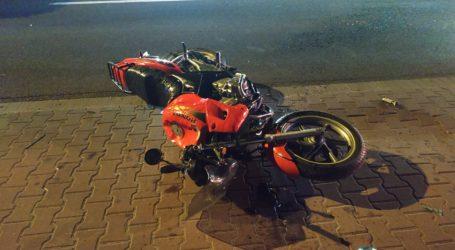 Wypadek motocyklisty na Wojska Polskiego