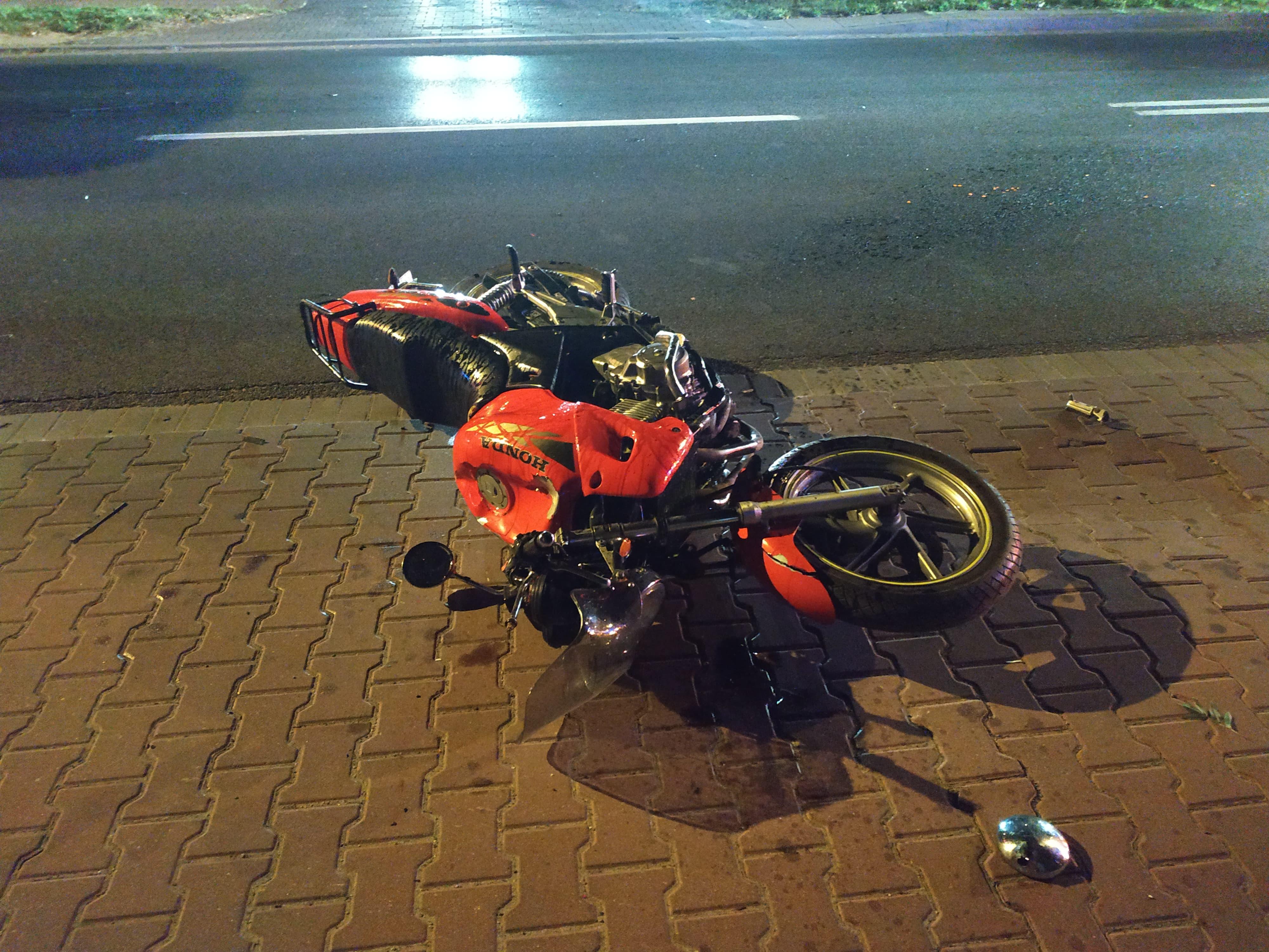Photo of Wypadek motocyklisty na Wojska Polskiego