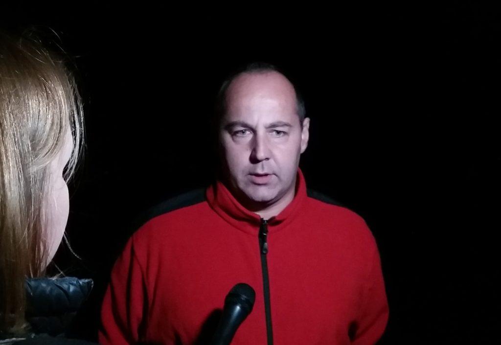st. kpt. Wojciech Pawlikowski, zastępca dowódcy JRG KM PSP w Piotrkowie.
