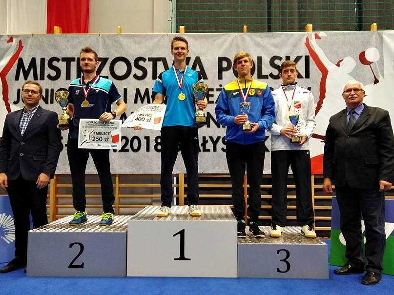 Photo of Mateusz Danielak po raz kolejny mistrzem Polski!