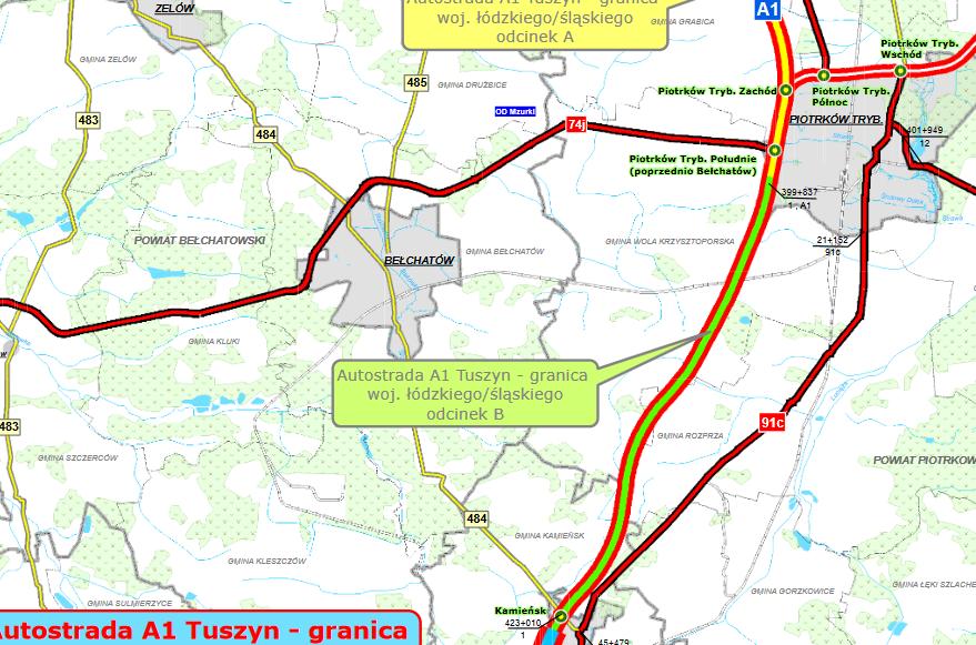 Photo of Mirbud nie podpisze kontraktu na budowę odcinka A1 pod Piotrkowem