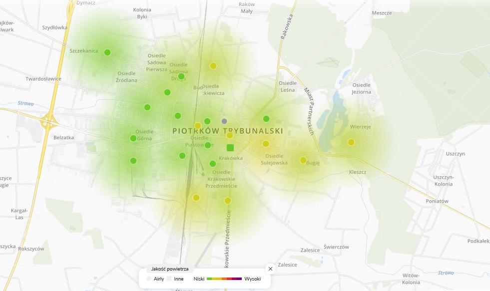 """Photo of """"Dobra jakość powietrza w Piotrkowie"""" – czy aby na pewno?"""