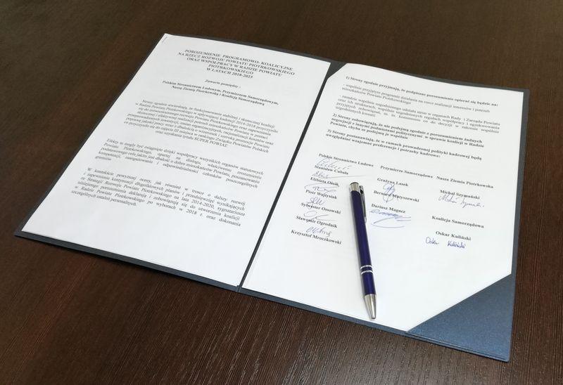Photo of Koalicja w Radzie Powiatu podpisana