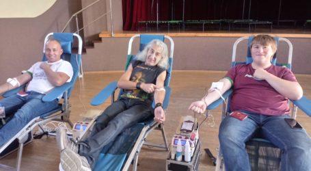Zbiórka krwi w Moszczenicy