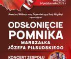 Koncert Mazowsza i odsłonięcie pomnika w Wolborzu