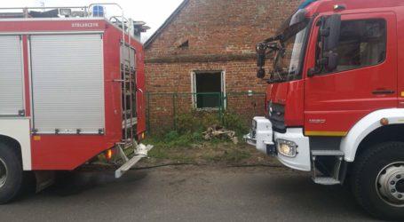 Pożar domu w Niechcicach. Nie żyje jedna osoba