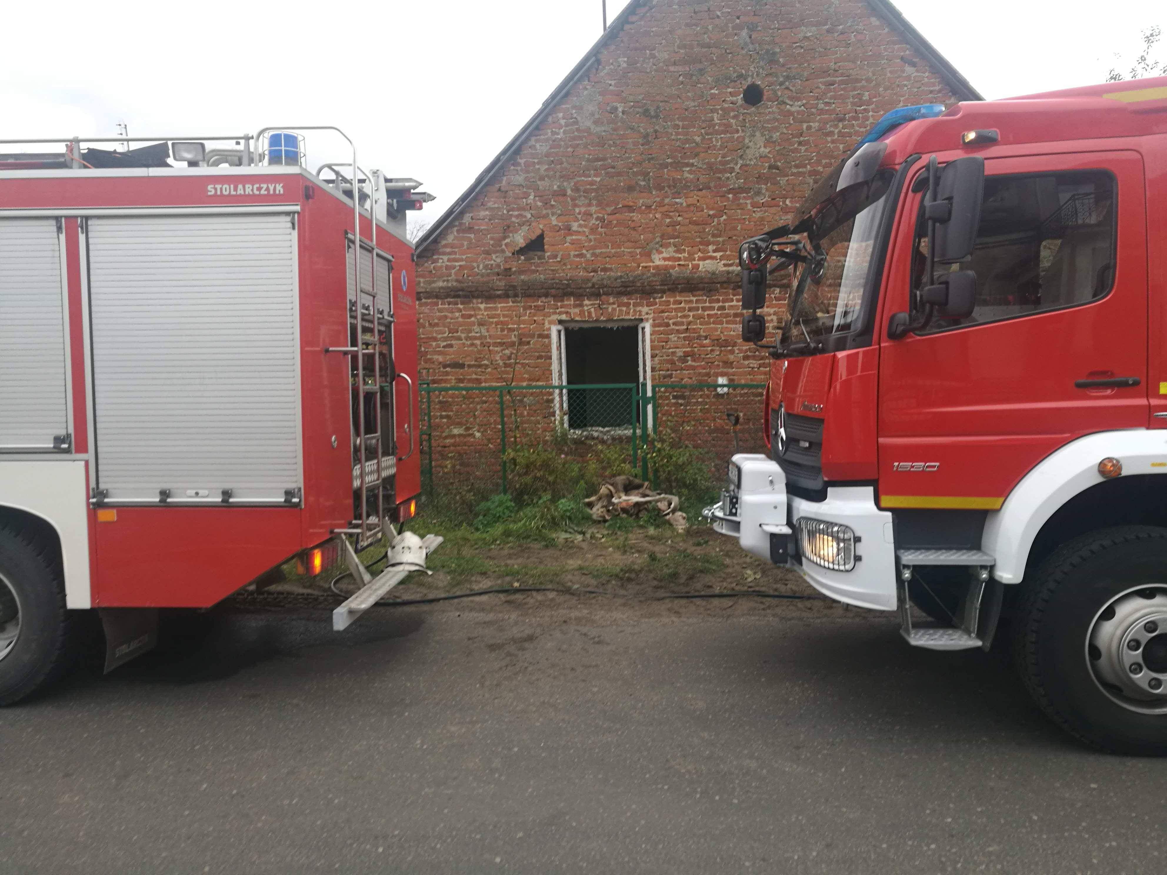 Photo of Pożar domu w Niechcicach. Nie żyje jedna osoba