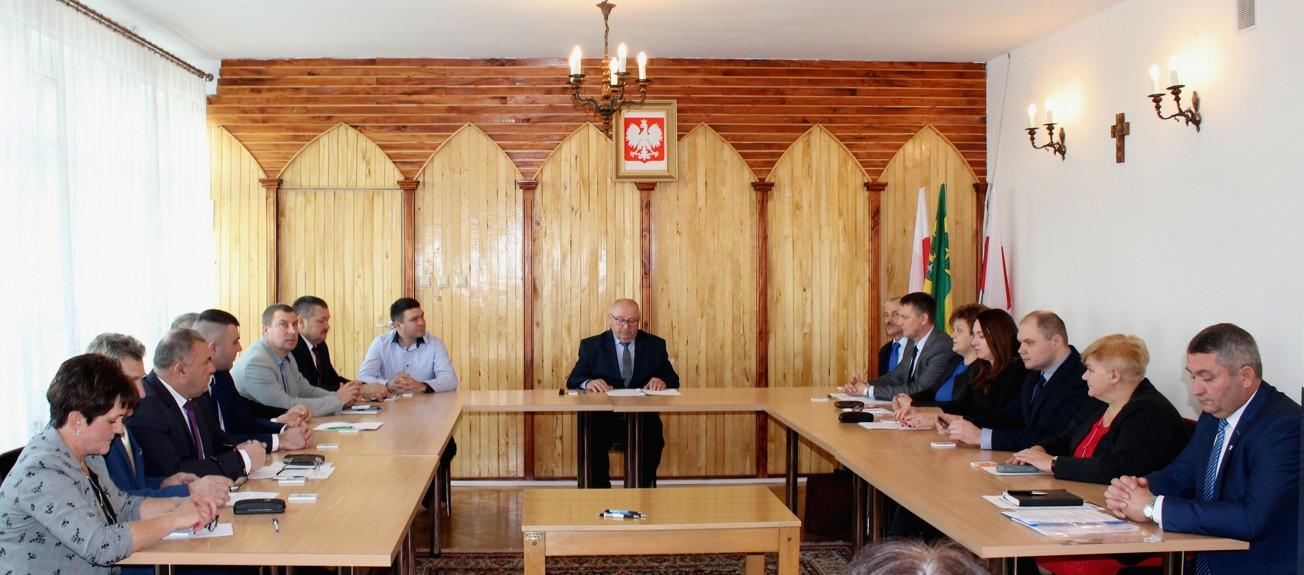 Photo of Pierwsza sesja Rady Gminy Grabica w kadencji 2018-2023