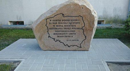 Uroczystości niepodległościowe w Moszczenicy