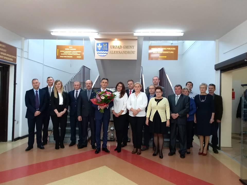 Photo of I sesja Rady Gminy Aleksandrów