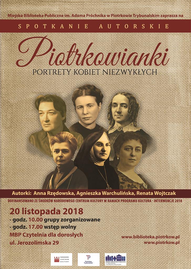 Photo of Piotrkowianki. Portrety kobiet niezwykłych
