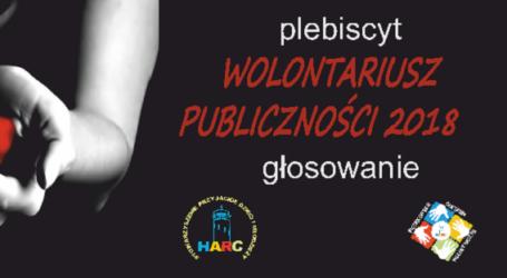 """Znamy nominowanych do tytułu """"Wolontariusz roku 2018"""""""