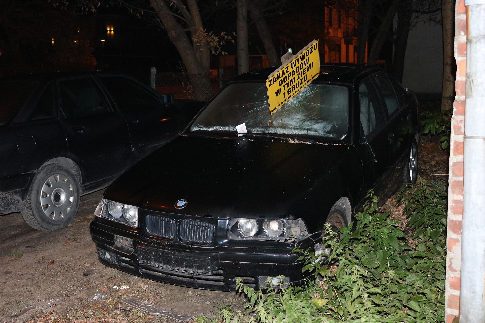 Photo of Zdewastowane BMW