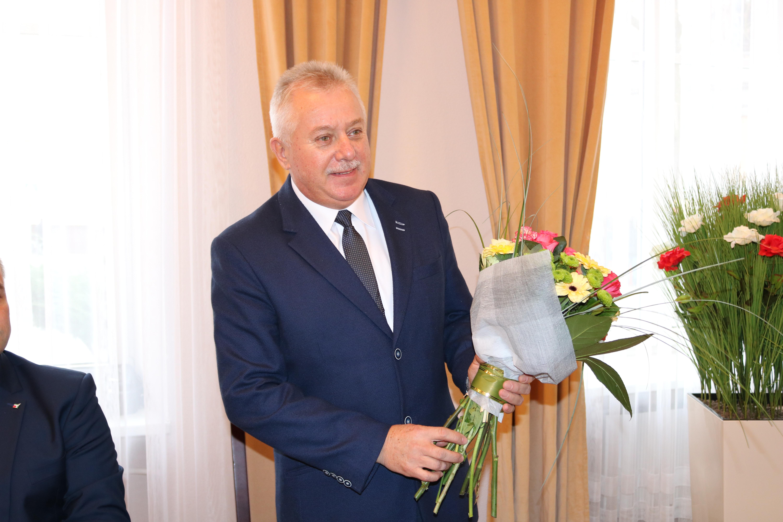 Photo of Bernard Matyszewski Przewodniczącym Rady Powiatu