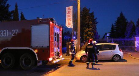 Pożar hali magazynowej na Twardosławickiej – VIDEO