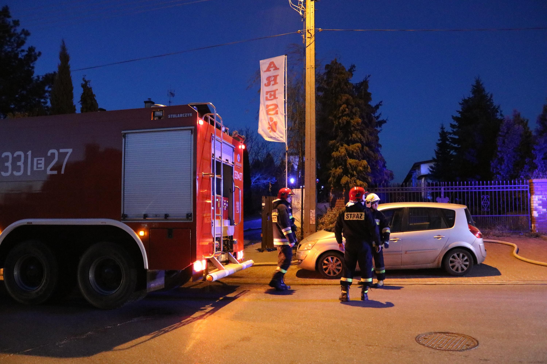 Photo of Pożar hali magazynowej na Twardosławickiej – VIDEO