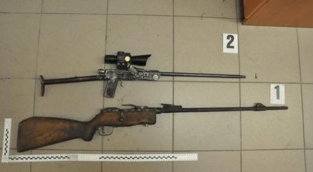 Za kratki za rozbój i nielegalne posiadanie broni