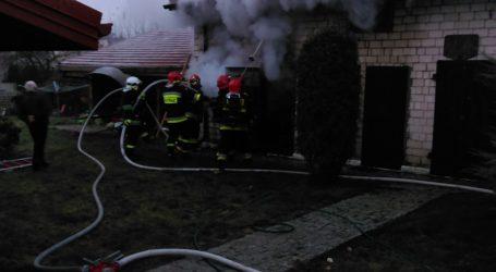 Pożar budynku gospodarczego – AKTUALIZACJA