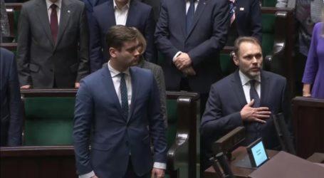 Poseł Grzegorz Lorek złożył ślubowanie – VIDEO