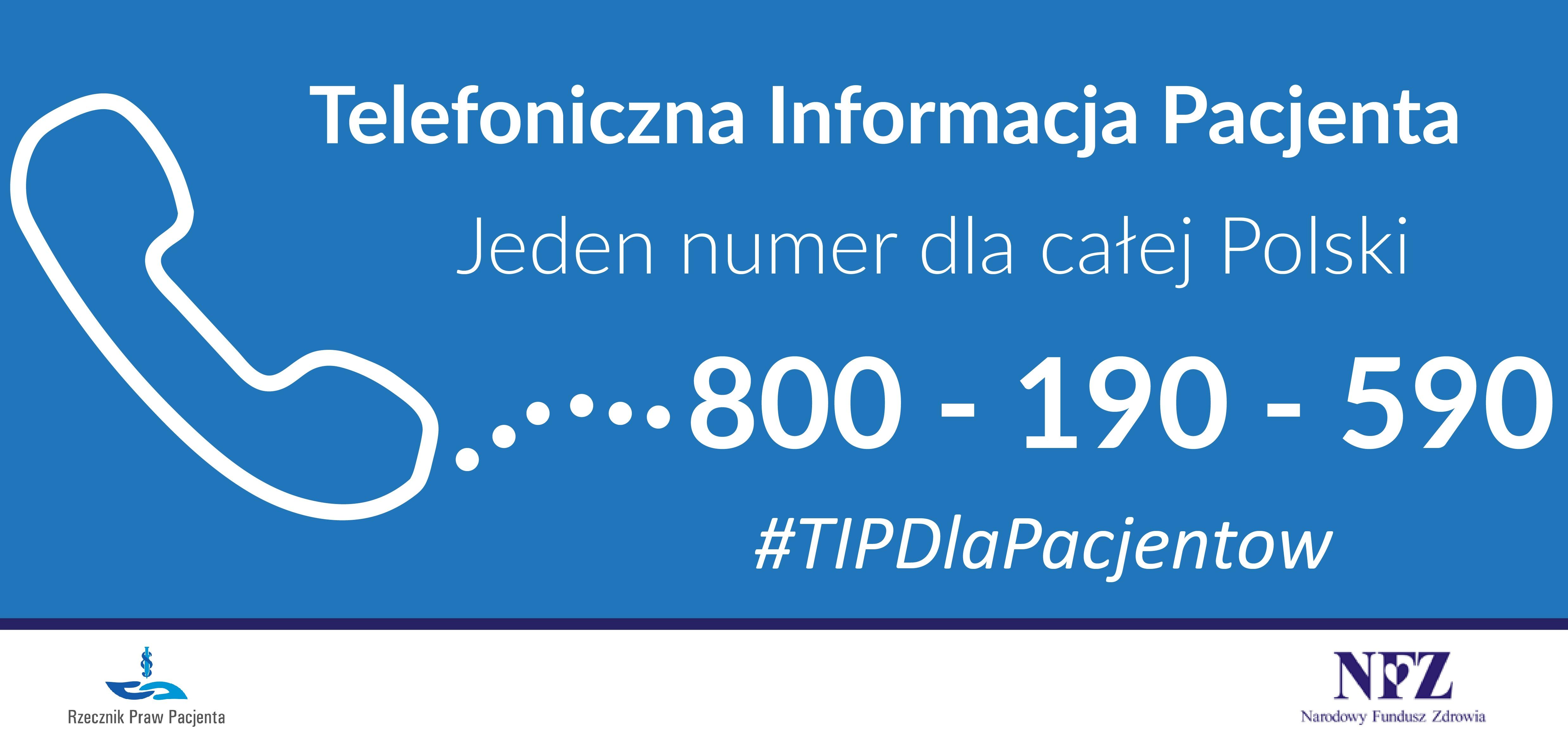 Photo of 800 190 590 – Telefoniczna Informacja Pacjenta