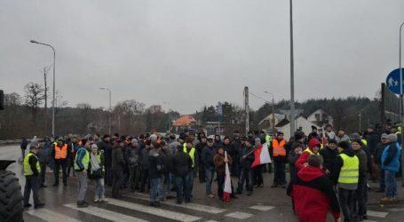Protest rolników: korek ma już ponad 12 kilometrów