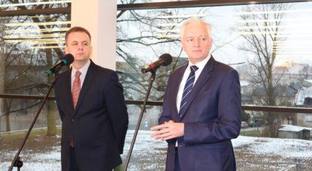 Wicepremier Jarosław Gowin z wizytą w mediatece