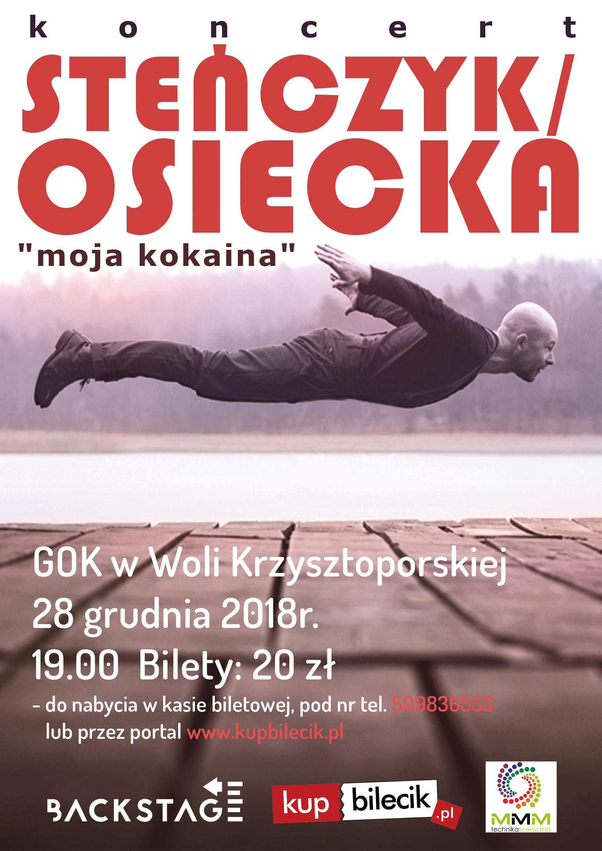 Photo of Steńczyk zaśpiewa Osiecką w GOK w Woli Krzysztoporskiej!