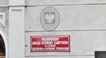Piotrkowska delegatura Konserwatora Zabytków do likwidacji