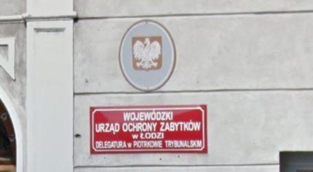 Konserwator zabytków w Piotrkowie do likwidacji – AKTUALIZACJA