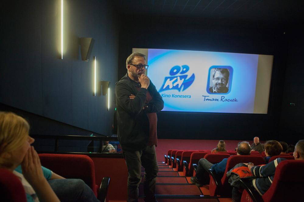 """Photo of """"Kino Konesera"""" z Tomaszem Raczkiem"""