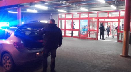 Alarm bombowy w Kauflandzie