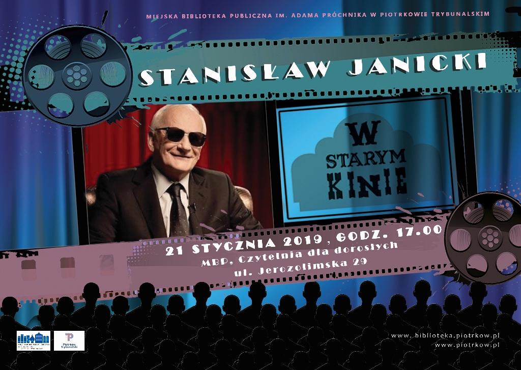 """Photo of Spotkanie ze Stanisławem Janickim, czyli """"W starym kinie"""" w MBP"""