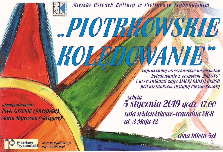 Photo of Piotrkowskie kolędowanie